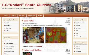 stralcio home page sito IC Rodari